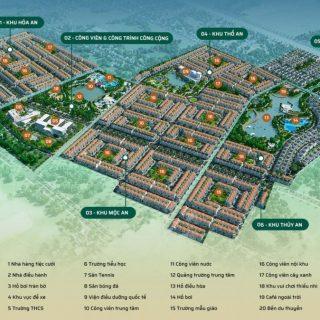 Phân khu dự án Phúc An City
